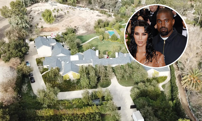 Continúan las obras en la mansión de Kim Kardashian y Kanye West a pesar de los rumores de ruptura