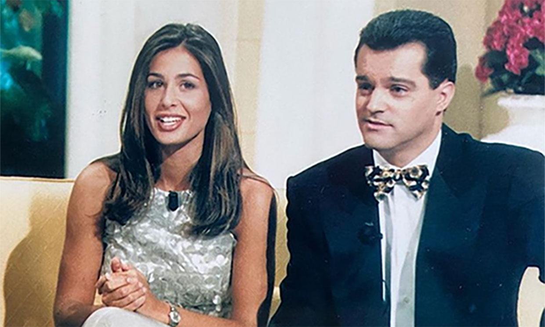 Así lucía Nuria Roca cuando enamoró a Juan del Val en 1998
