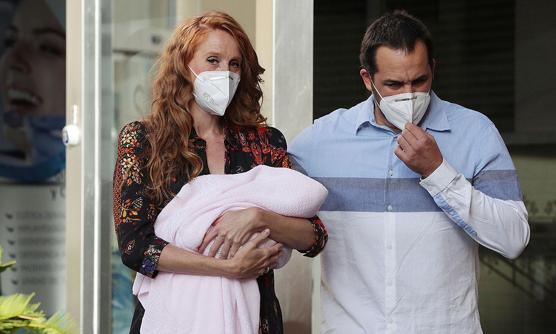 María Castro y su familia, aislados tras contraer Covid