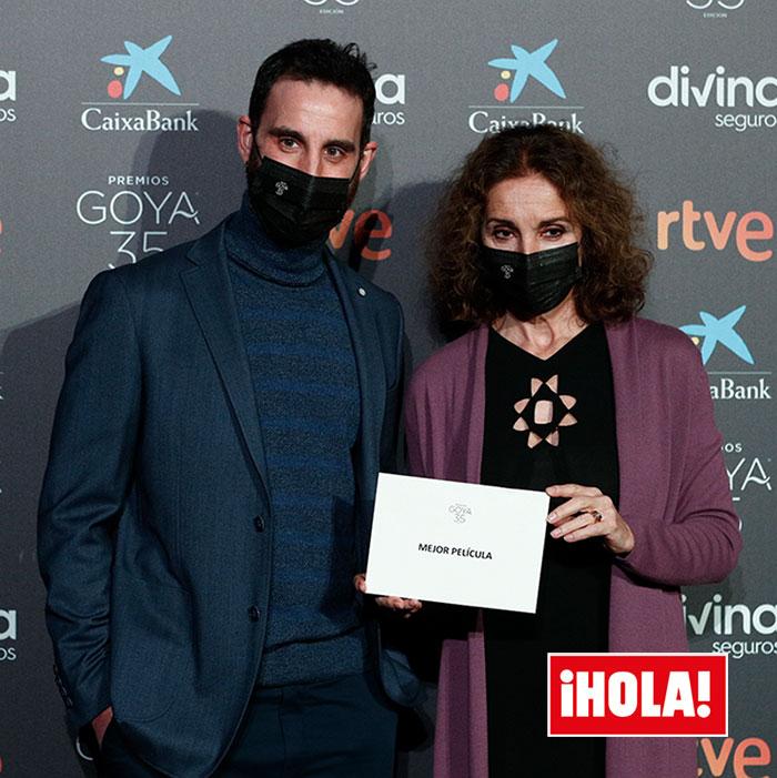 Dani Rovira y Ana Belén en la lectura de los nominados a los Goya 2021