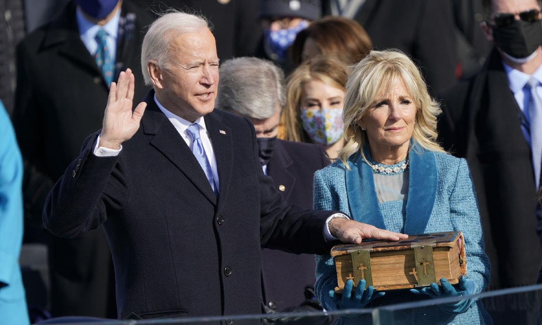 Las mejores imágenes de la toma de posesión de Joe Biden, nuevo presidente de Estados Unidos