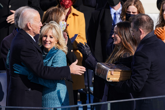 La pareja presidencial