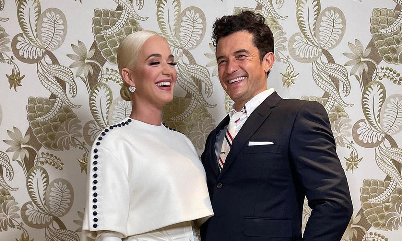 Orlando Bloom, orgulloso de Katy Perry por 'formar parte de la historia'