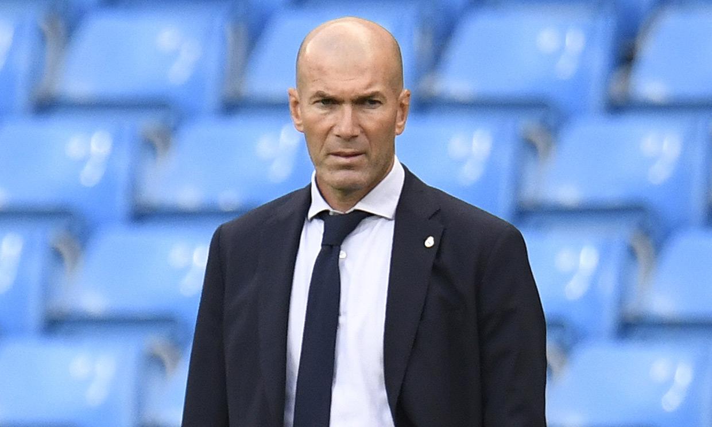 Zinedine Zidane, positivo en COVID-19