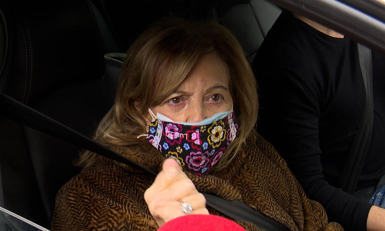 María Teresa Campos, molesta al ser preguntada por Isabel Gemio: 'No he hablado ni voy a hablar'