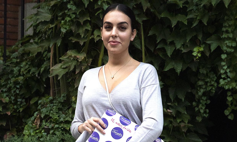 Georgina Rodríguez, ilusionada con la felicitación que ha recibido de ¡la reina Sofía!