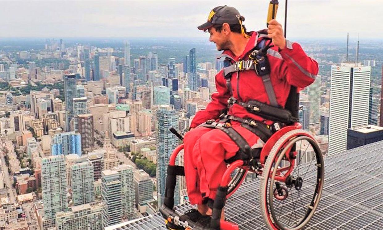 El brutal reto de Cisco García por las alturas de Toronto, ¡Esto sí que es un desafío!