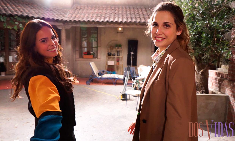 Primicia: Gloria Camila nos muestra los rincones del plató de 'Dos Vidas' a pocas horas de su estreno