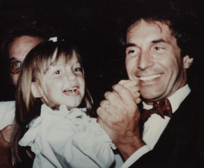 Bill Hudson and his daughter Kate