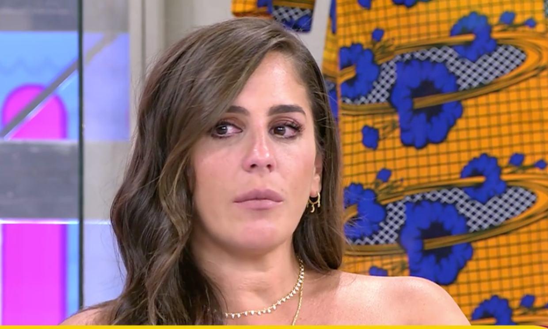 Anabel Pantoja vive entre lágrimas una de sus peores tardes en televisión