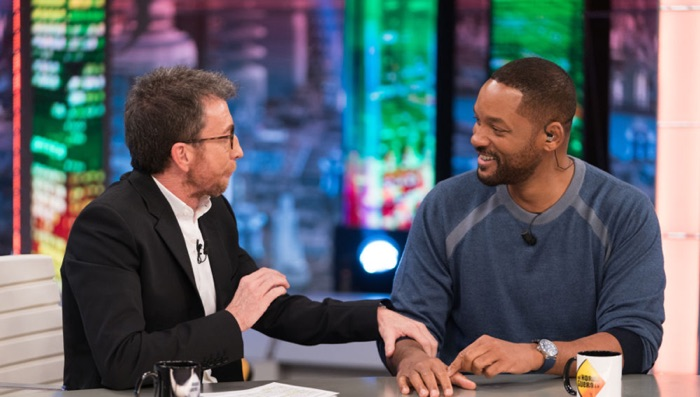 Pablo Motos y Will Smith