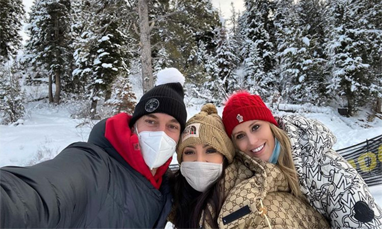 Pau Gasol, de escapada a la nieve con la viuda de Kobe Bryant y sus hijas