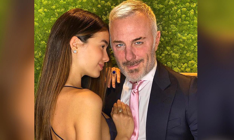 ¡El no va más! Gianluca Vacchi se viste con falda escocesa para su baile más viral con Sharon Fonseca