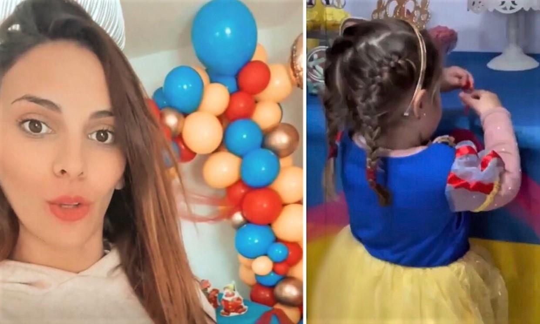 La espectacular fiesta con temática de 'Blancanieves' que Irene Rosales prepara a su hija Carlota