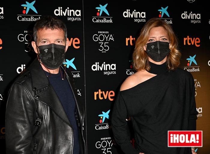 Antonio Banderas y María Casado, presentadores de los Goya