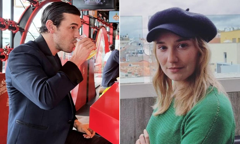 Mario Casas y Déborah François celebran las buenas noticias dándose un festín