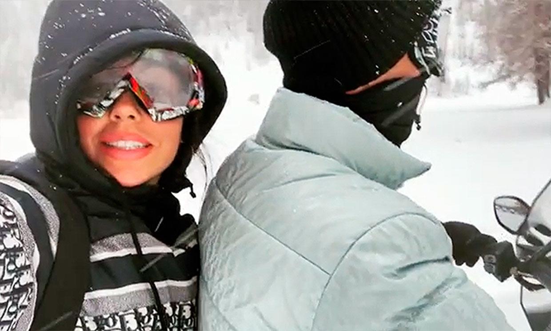 Cristiano Ronaldo y Georgina Rodríguez, amor y adrenalina en la nieve