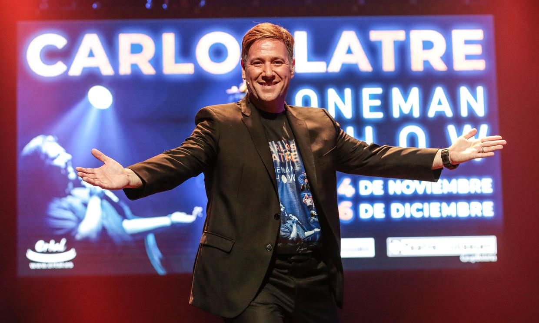 Carlos Latre, orgulloso de su hija Candela: 'Quiere hacer teatro musical y me parece maravilloso'