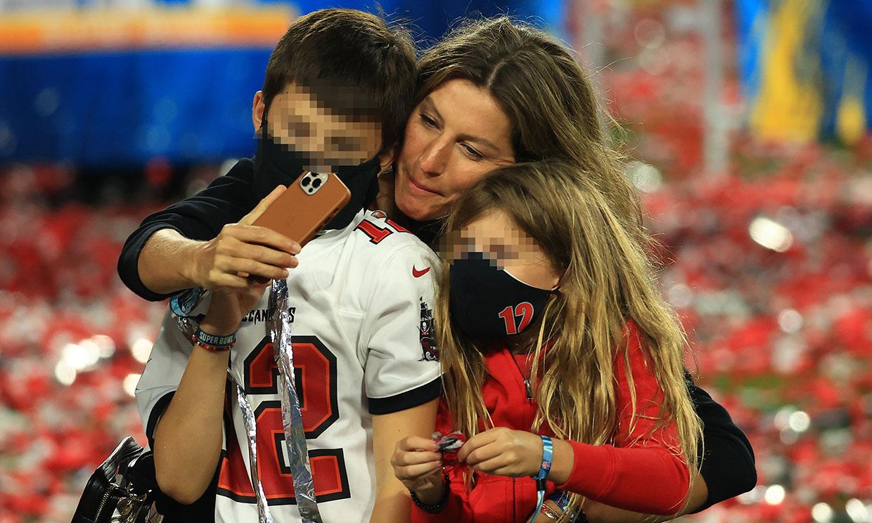 Gisele Bündchen y sus hijos, el mayor triunfo de Tom Brady