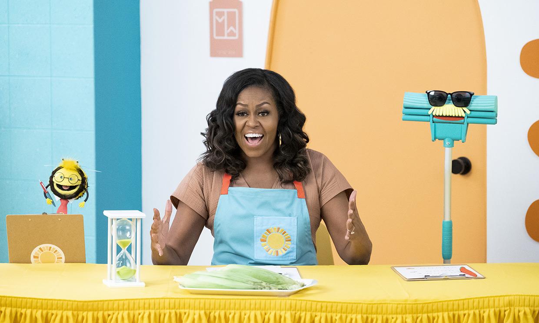 Michelle Obama debuta como actriz en la serie que le hubiera gustado ver con sus hijas