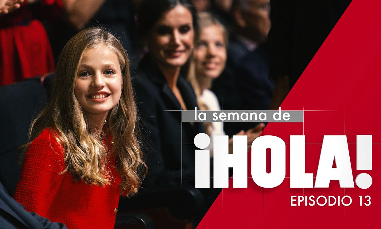 La princesa Leonor y Sara Carbonero, las dos grandes protagonistas de la semana en HOLA.com