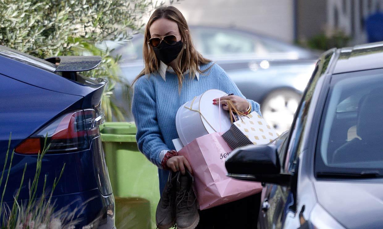 Olivia Wilde abandona el hogar conyugal y se muda a la casa de Harry Styles