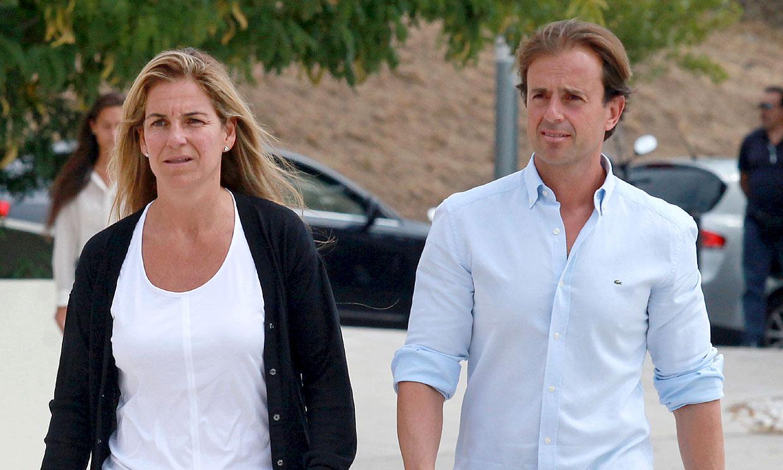 Arantxa Sánchez Vicario y Josep Santacana, a punto de firmar el divorcio