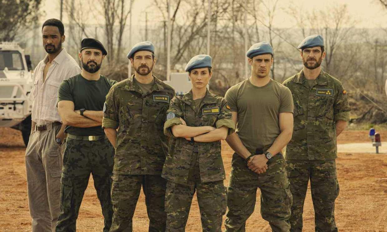 Silvia Alonso, Martiño Rivas y Féliz Gómez protagonizan 'Fuerza de paz', la nueva ficción de TVE