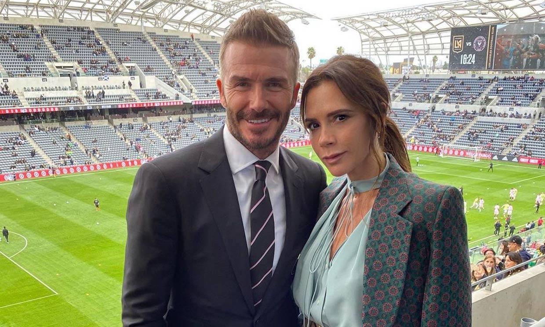 David Beckham 'da la nota' en un desternillante vídeo que le ha hecho Victoria