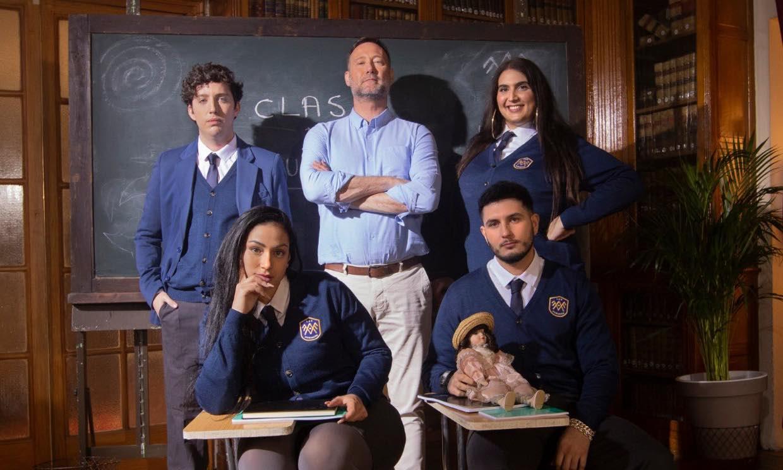 Omar Montes y el pequeño Nicolás se convierten en los alumnos más rebeldes de 'El Internado'