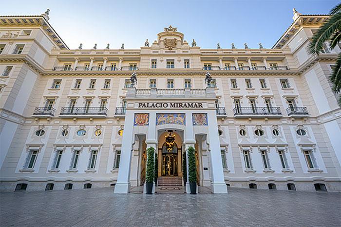 Alfombra roja de los Goya 2021 en el Gran Hotel Miramar de Málaga