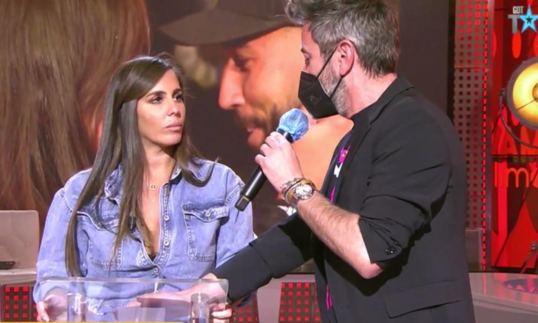 El novio de Anabel Pantoja se entera en directo que la colaboradora quiere dejar la televisión