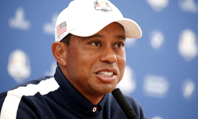 Tiger Woods, con 'buen ánimo' mientras se cura de las graves lesiones sufridas
