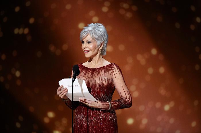 Jane Fonda en los Oscar