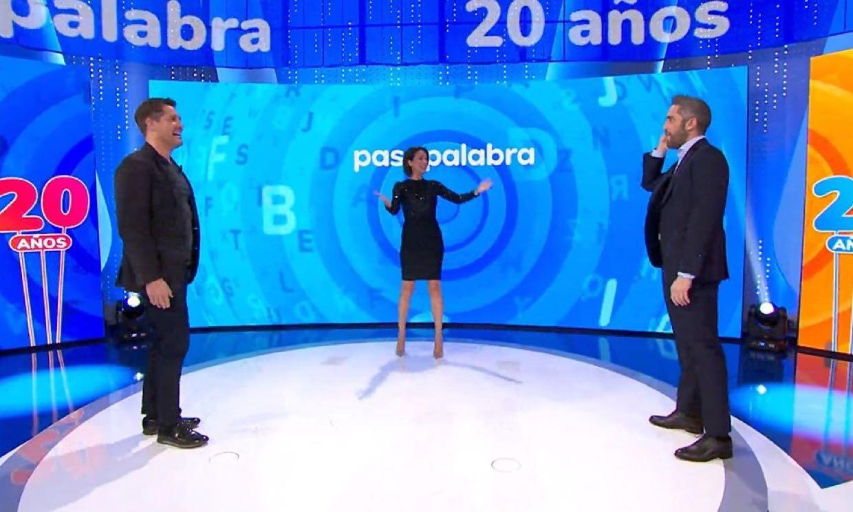 Reunión de presentadores de 'Pasapalabra', con una sonada ausencia, para celebrar el 20 de aniversario