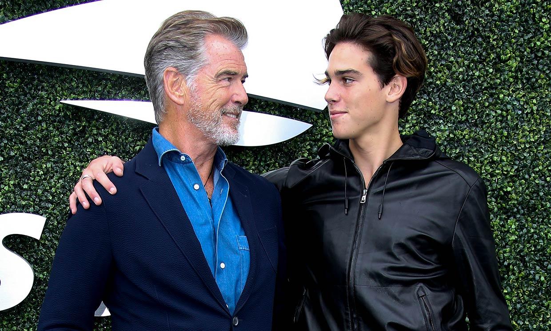 El valioso consejo de Pierce Brosnan a su hijo Paris al cumplir 20 años