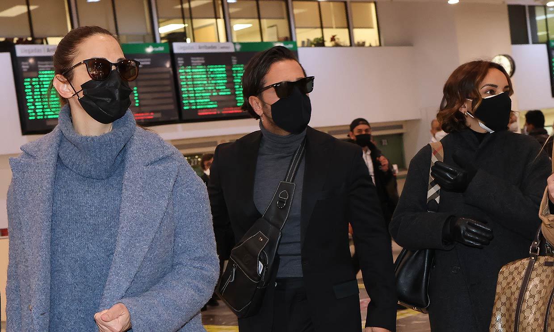 Chenoa, David Bustamante y otros compañeros de 'Operación Triunfo' llegan a Barcelona para despedirse de Álex Casademunt