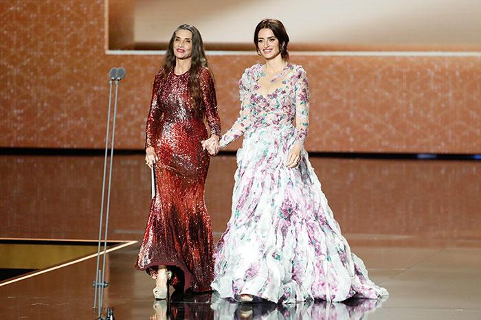 Penélope Cruz y Ángela Molina
