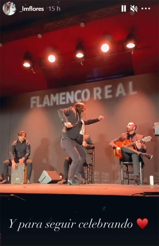 Laura M Flores y Benji Aparicio en el espectaculo Flamenco Real