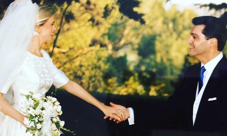 Ramón García y Patricia Cerezo celebran 'media vida juntos' con fotos de su boda