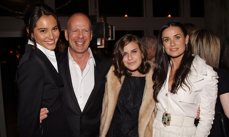 La admiración de Demi Moore por la mujer de su exmarido, Bruce Willis