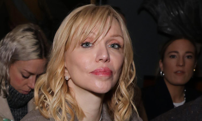 Courtney Love, al borde de la muerte por una anemia que la llevó a pesar 43 kilos