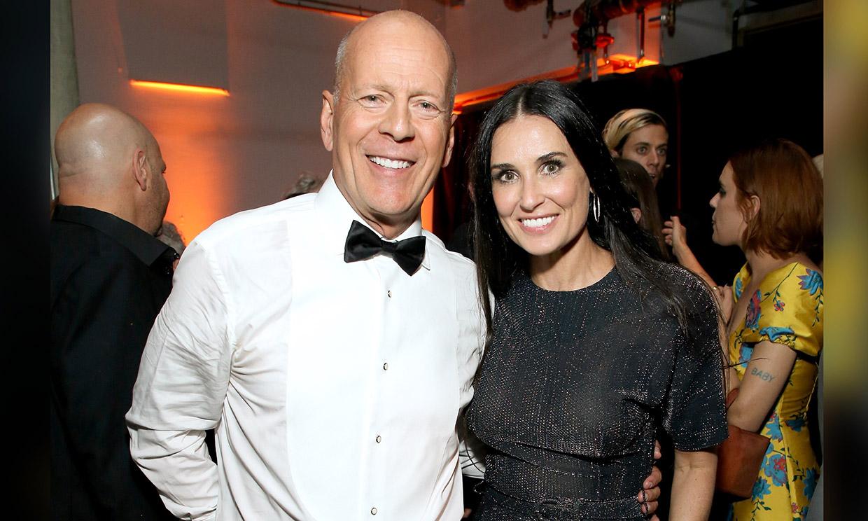 La original felicitación de Demi Moore a su ex, Bruce Willis, por su 66 cumpleaños