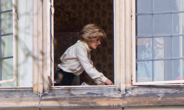 Kristen Stewart como Diana de Gales en 6 impactantes imágenes