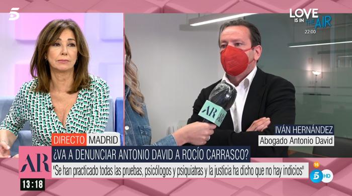 El abogado de Antonio David Flores