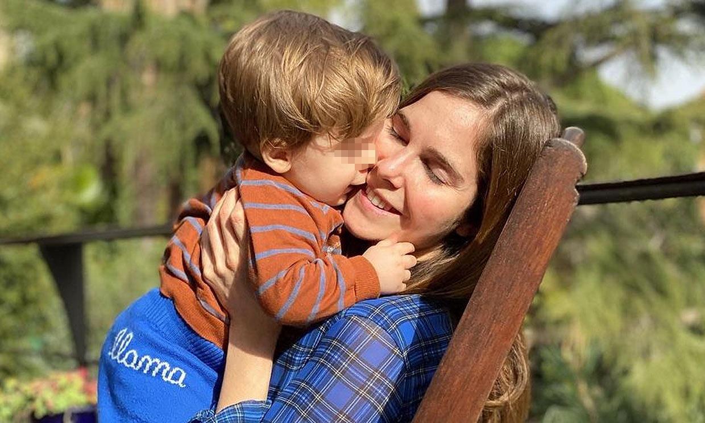 Natalia Sánchez, una mamá orgullosa de los primeros pasos de su hijo (con celebración incluida)