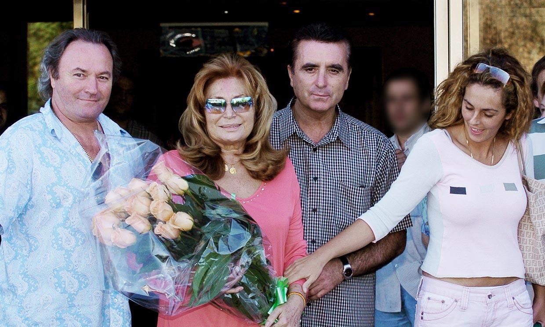 Quién es quién en la familia de Rocío Carrasco