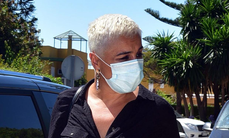 Ana María Aldón, muy afectada por el testimonio de Rocío Carrasco, recuerda su dura infancia