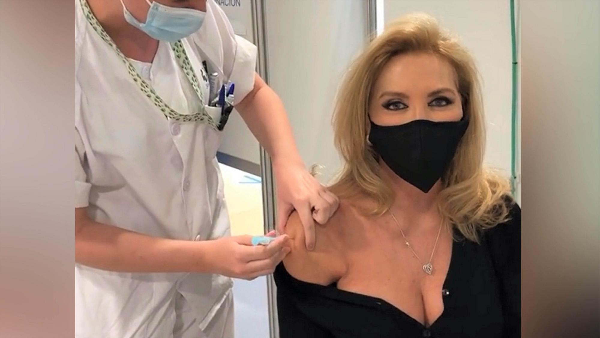 De Norma Duval a Mariah Carey, así han sido las vacunaciones de las 'celebrities'