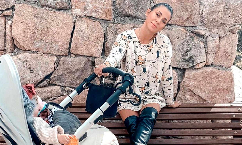 'Un día de vida vs. once meses', Elena Tablada muestra lo mucho que ha crecido su pequeña Camila
